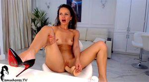 AlisaRubleva in toples on webcam